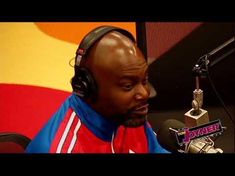 Comedian JJ Williamson talks with the Tom Joyner Morning Show