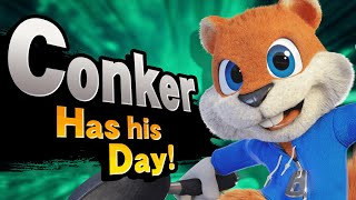 What If Conker Joined Smash Ultimate? - Aaronitmar