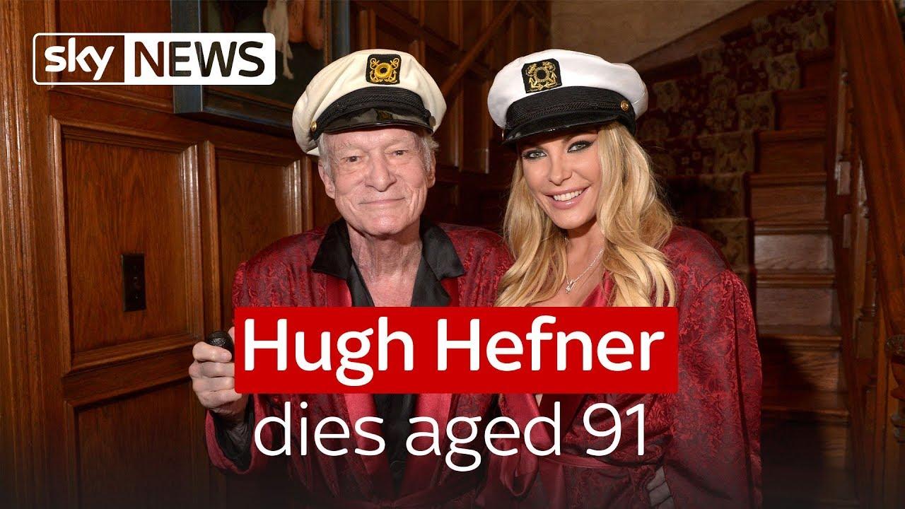 Hugh Hefner Dies Aged 91 Youtube