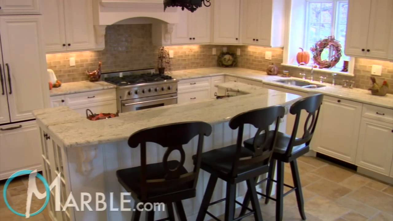 Colonial Gold Granite Kitchen Countertops IV By Marble.com