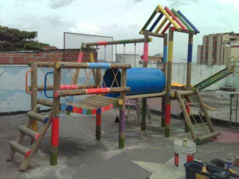 Parques Infantiles Del Oriente Youtube