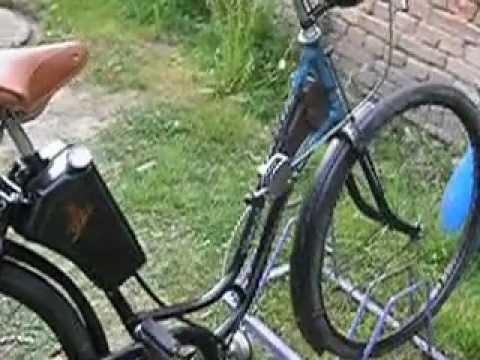 Fahrradhilfsmotor  Steppke Probelauf...