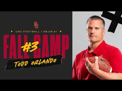 USC Football - 2021 Fall Camp #3: Todd Orlando
