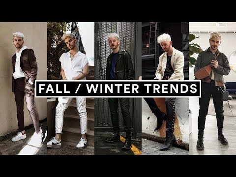 10 MENS FASHION TRENDS FOR FALL & WINTER (2018) + Style Hacks // Imdrewscott