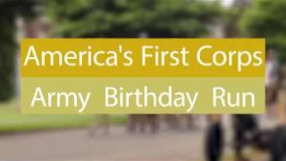 2018 First Corps Army Birthday Run