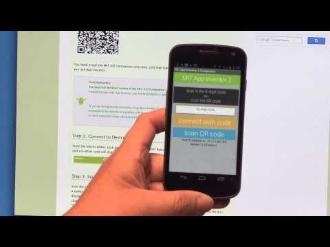 Talk To Me (part 1), MIT App Inventor Tutorial #1