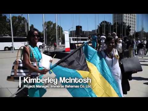 Bahamas at Sister Cities International Conferene