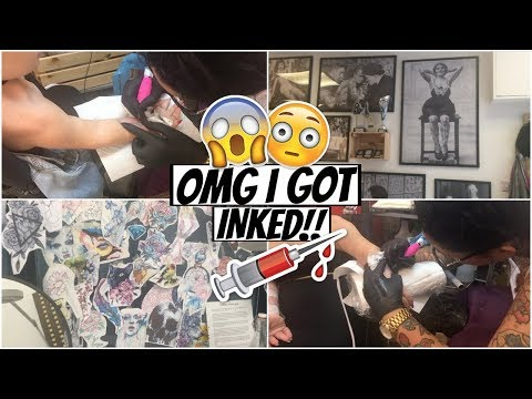 OH MY GOD I GOT A TATTOO OR MAYBE 2 oops | VLOG PART 1 | MakeupJunkieG