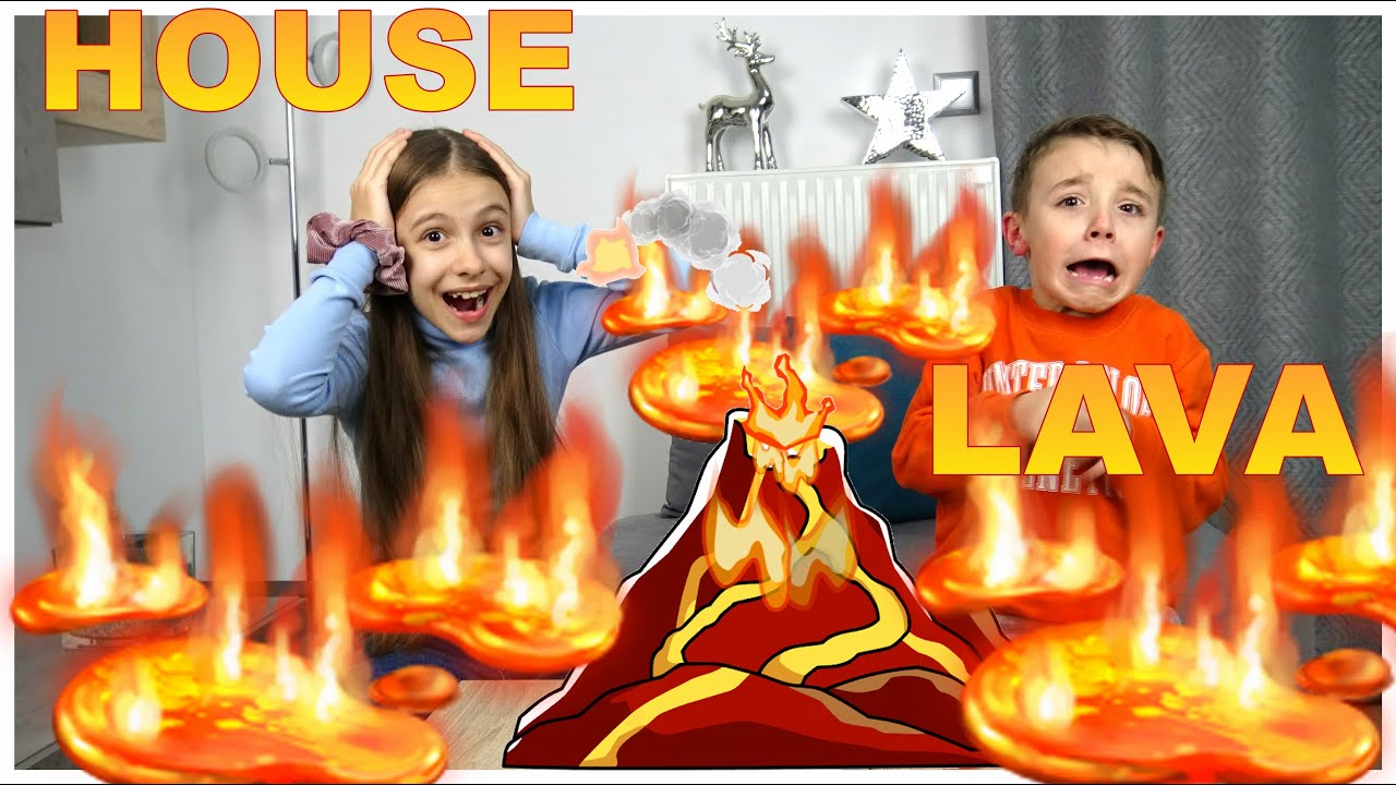 HOUSE LAVA #Funny Επιτραπέζιο Παιχνίδι ΗΦΑΙΣΤΕΙΟ  Η ΜΕΓΑΛΗ ΑΠΟΔΡΑΣΗ |FAMILY BOX GR!
