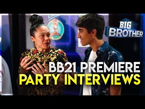 Big Brother 21 Premiere Party Interviews