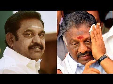 EPS, OPS factions of AIADMK may announce...