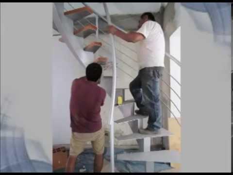 escalera caracol estructuras metlicas hal