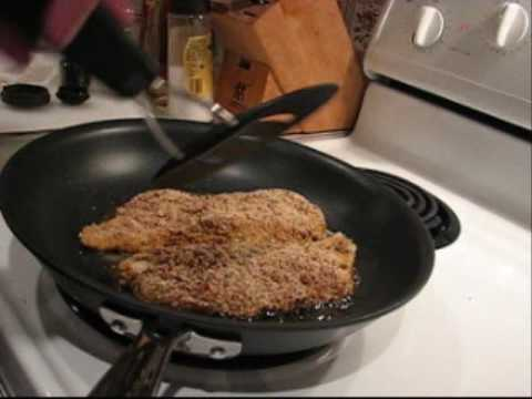 How To Make Pecan-crusted Orange Roughy