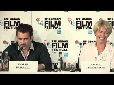Saving Mr. Banks - Press Conference - includes Tom Hanks, Emma Thompson & Colin Farrell Part 1