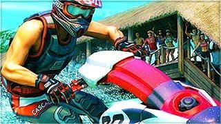 THIS GAME IS SO STRICT! (Aqua Moto Racing Utopia)