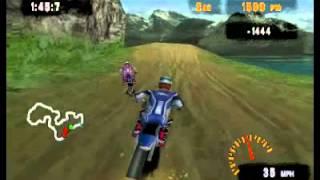 PSX ► PS1 ► Freestyle Motocross - McGrath vs  Pastrana