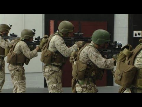 Royal Marines Train Alongside US Marines In Immersive 360 Video