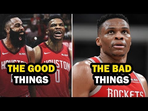 Grading the Russell Westbrook & James Harden Rockets Duo