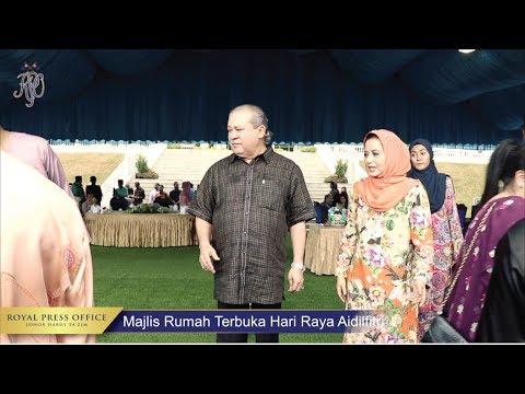 RUMAH TERBUKA AIDILFITRI SULTAN JOHOR 2017