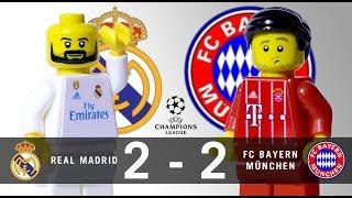 LEGO Real Madrid 2 - 2 FC Bayern München Champions League 2017 / 2018