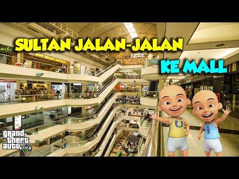 Sultan Upin Dan Ipin Maen Ke Mall Mewah - GTA V Upin Ipin Episode Terbaru 212