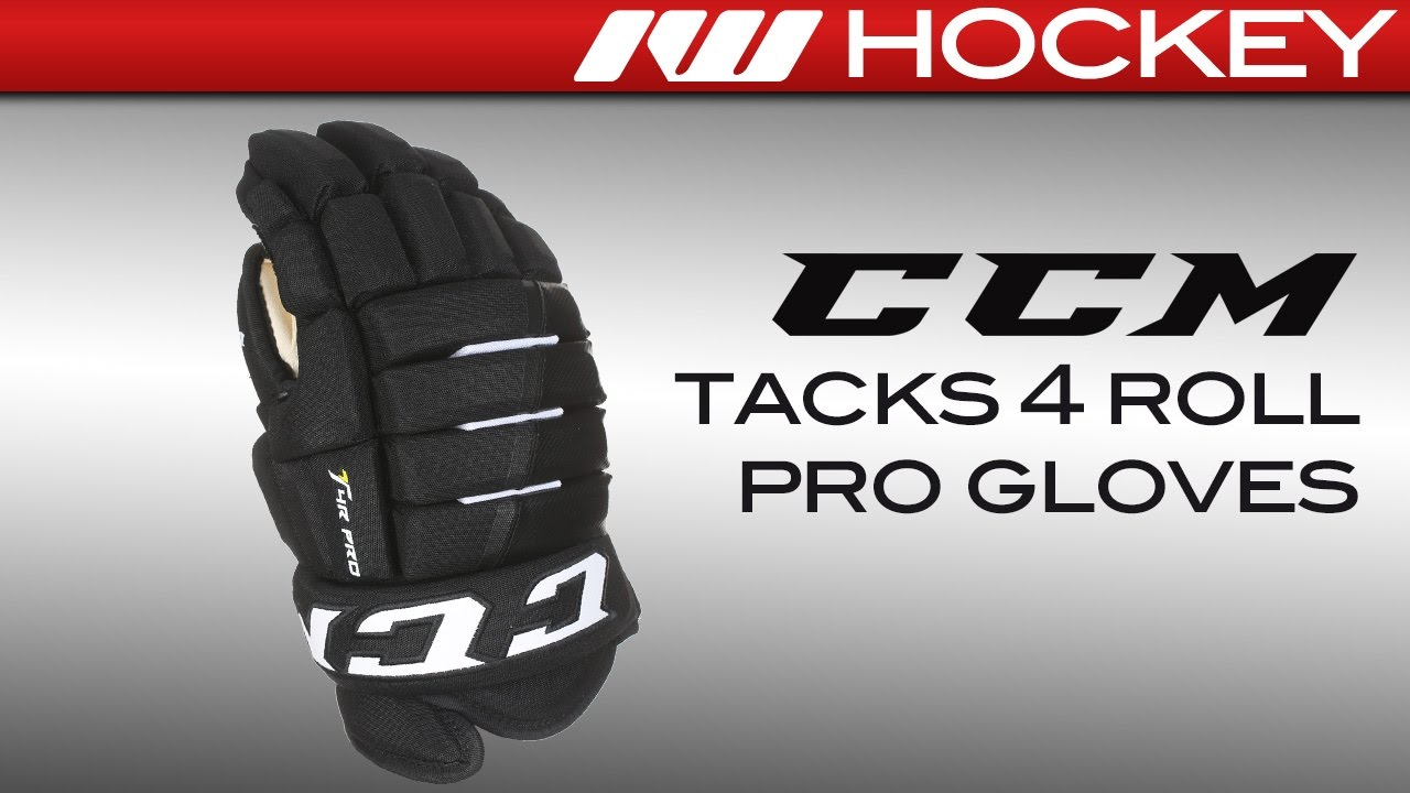 80cf5f5f84a CCM Tacks 4 Roll Pro Glove Review - YouTube