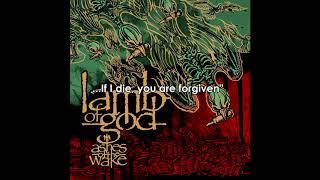 Lamb of God - Omerta (Lyrics) [HQ]