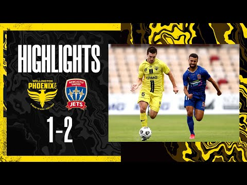 Wellington Phoenix Newcastle Jets Goals And Highlights