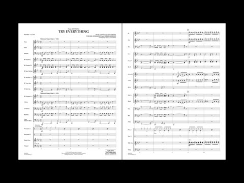 Try Everything (from Zootopia) arr. Matt Conaway