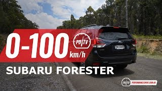 2019 Subaru Forester 2.5i 0-100km/h & engine sound