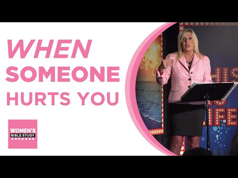 This is Life Lesson 6 - When someone hurts you