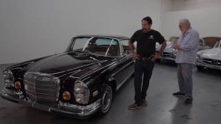 "Mercedes-Benz 280SE 3.5 Coupe - ""Preservation Vs. Restoration"""