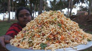 Street Food style Kaara Pori | கார பொரி | Masala Puffed Rice | Food Money Food