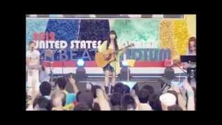 """前半:めざましライブ(2012) 後半:miwa concert tour """"Delight""""(2013)"""