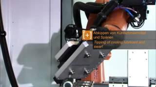 Роботы для автоматизации станков(Узнайте больше о роботизации производства на нашем сайте: http://kuka-roboter.com.ua/, 2015-11-18T15:29:03.000Z)