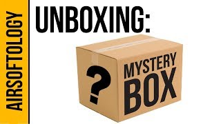 Mystery Box Unboxing: could it be a M132 Minigun???  | Airsoftology