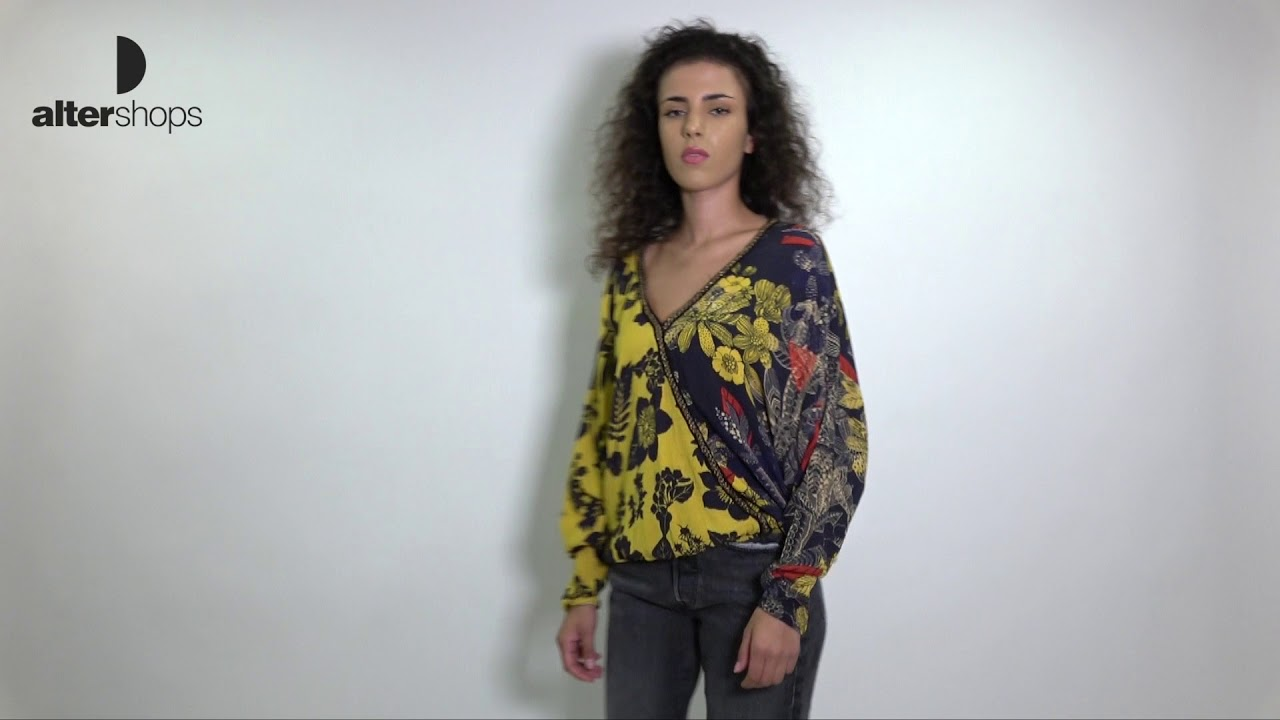 Desigual DRP4 Blus Nuuk DS18WWBW3400000072 - YouTube d6969d8a221