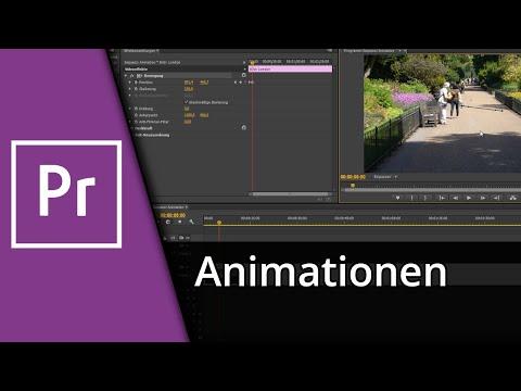 Adobe Premiere Tutorial | Bild/Text einfliegen & vergrößern / Animationen [Deutsch/HD]