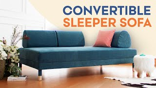 IKEA Flottebo Sofa Review | Offbeat Design | Convertible Sleeper Couch