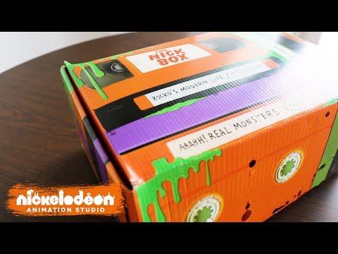 Nick Box: Nicktoons Rewind Unboxing | Nick Swag | Nick Animation
