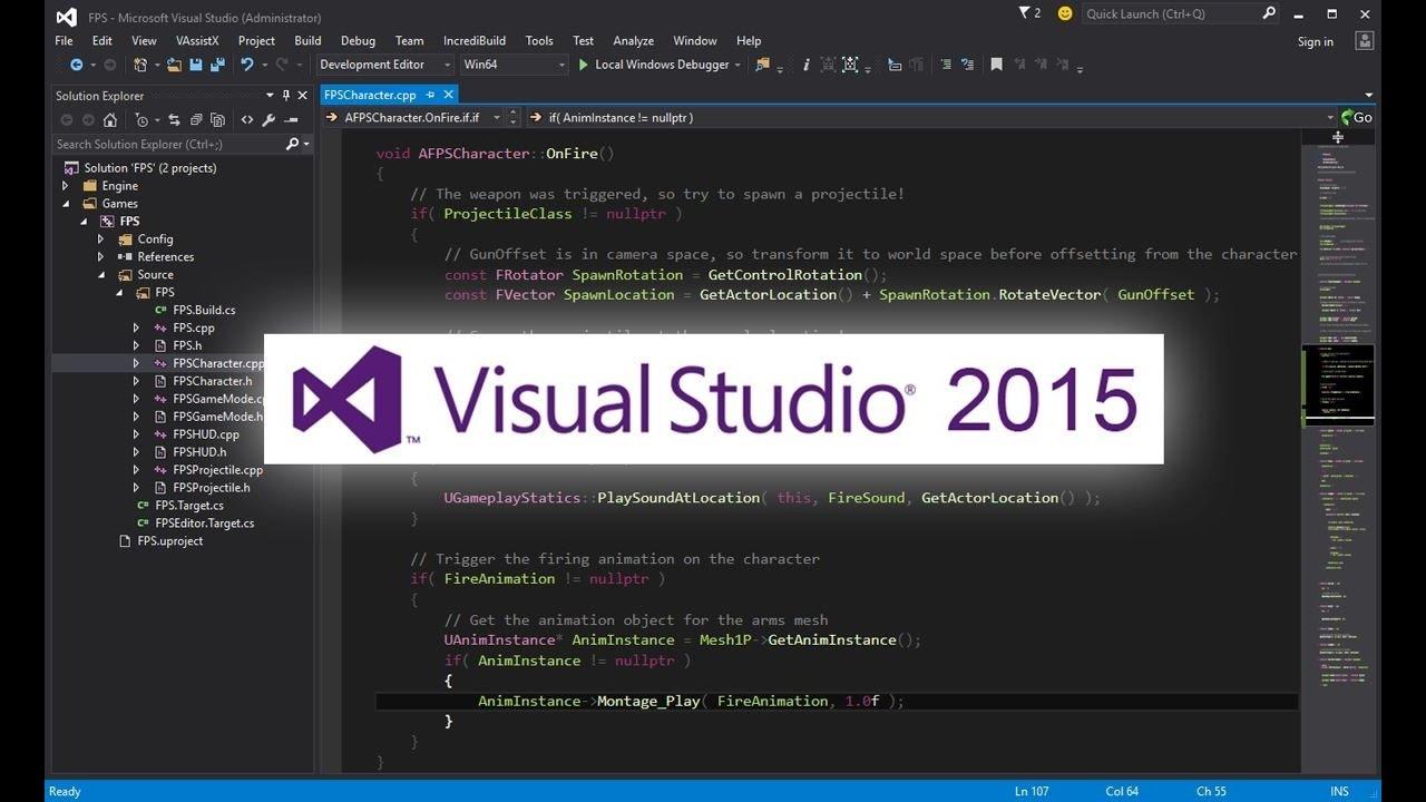 Microsoft visual studio 2015 professional update 2 iso free download.