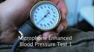 Audio Enhanced Blood Pressure