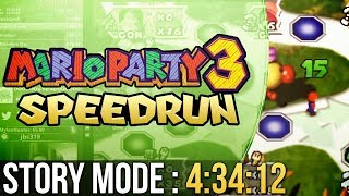 [WR] Mario Party 3 Story Mode Speedrun in 4:34:12 (Normal)
