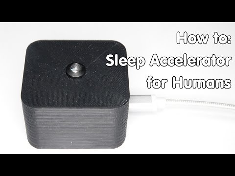 How to build a Sleep Accelerator for Humans