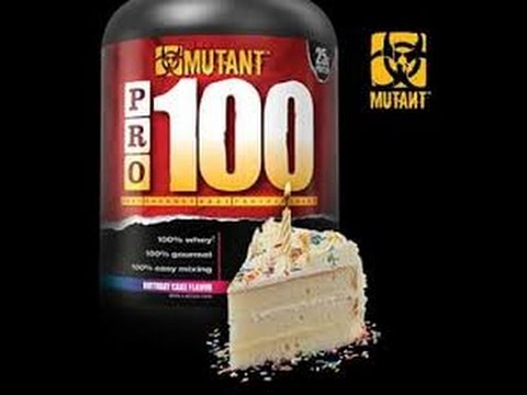 MUTANT PRO 100 FULL REVIEW TASTE TEST BIRTHDAY CAKE FLAVOR With Guest Charles Roburn
