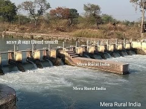 Canal irrigation system in India #Canalwaterdistribution