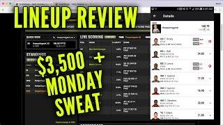 DraftKings Week 14 Lineup Review