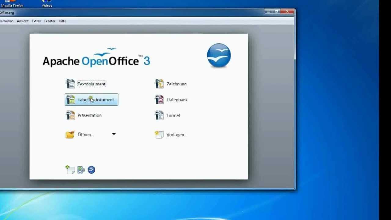 schreibprogramm open office