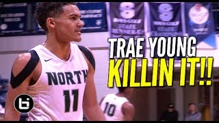 No One In Oklahoma Can Stop Trae Young! Sick 3 Game Mixtape