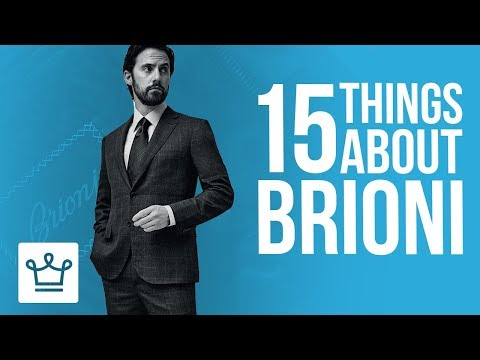 15 Things You Didn't Know About BRIONI